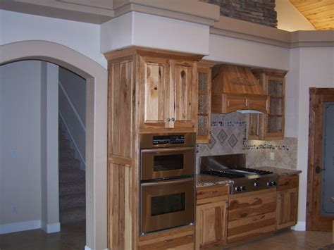 rustic hickory kitchen cabinets rustic hickory cabinets kitchen pinterest