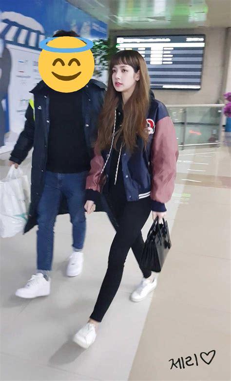 blackpink fashion airport blackpink lisa swag airport fashion 2018 2 blackpink update