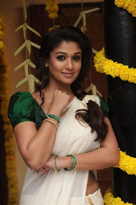 nayanthara sari new hd photo free download nayanthara hot stills in saree photos indian actress