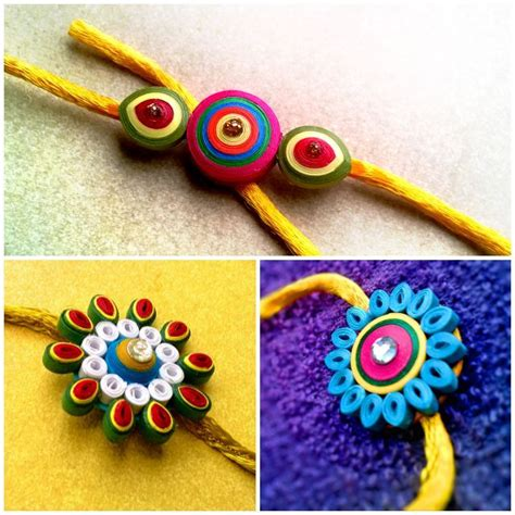 What Can We Make With Paper - 15 best ideas to make rakhi at home for rakshabandhan