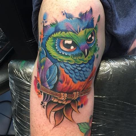 colorful owl tattoo designs 51 owl tattoos ideas best designs with meaning