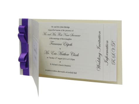 make cheque book style wedding invitations free wedding invitation sles barker cards