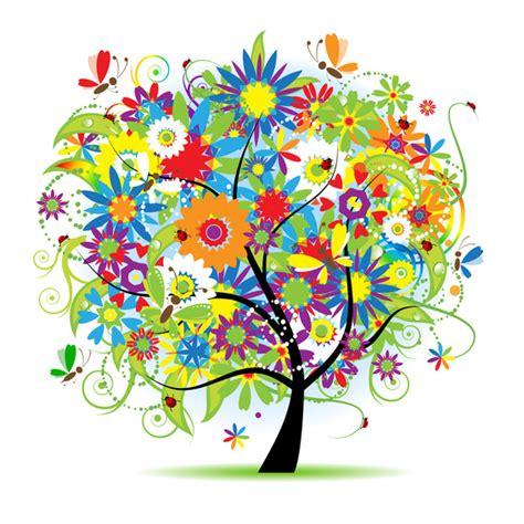 colored beautiful flowers design graphics vector flower normen en waarden lijst plazilla com