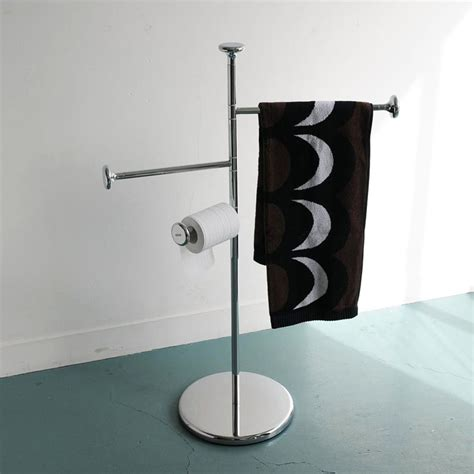 standing towel racks bathrooms silver free standing floor 3 tier towel rail rack with