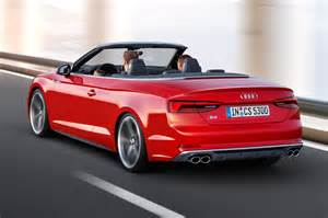 Audi S5 Cabriolet 2017 Audi S5 And A5 Cabriolet Chop Their Tops At La By Car