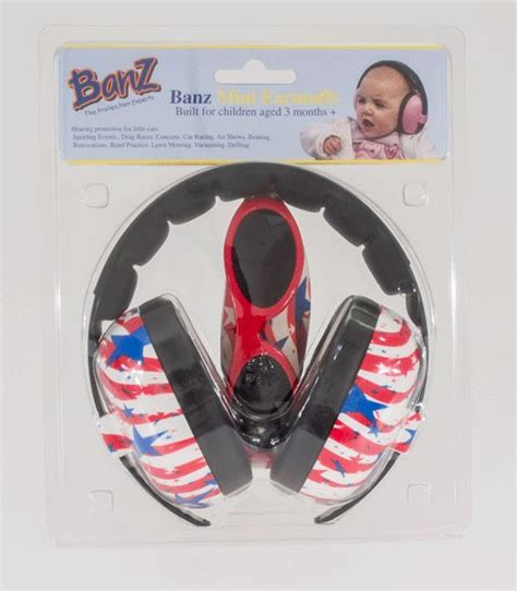 Babybanz Mini Earmuff Stripes 17 best images about banz hearing protection on fireworks this weekend and kid