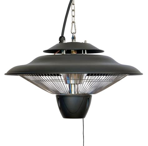 patio heater bulbs 1 5kw hanging ceiling halogen bulb infrared electric patio heater in black by firefly 163 64 99