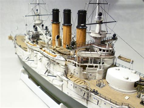 Handcrafted Ship Models - model battleship retvizan in scale 1 350 model kits