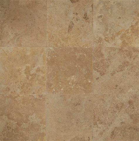 bedrosians travertine mocha jura beige tile flooring