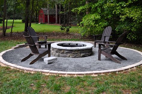 building a firepit in your backyard the collected interior our diy fire pit