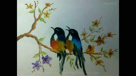 tutorial menggambar fauna cara menggambar flora dan fauna belajar melukis hewan dan