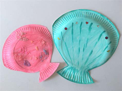 Basteln Mit Papptellern Weihnachten by Muscheln Aus Pappteller Basteln Der Familienblog F 252 R