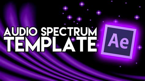audio spectrum template how to edit youtube