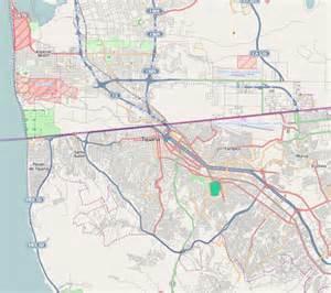 map of tijuana baja california san antonio de los buenos