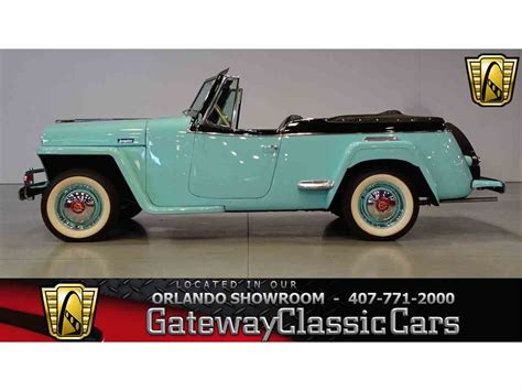 1948 willys jeepster 1948 willys jeepster for sale classiccars com cc 984107