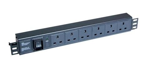 Rack Pdu by 6 Way Rack Mounted Power Distribution Unit Pdu Broadcast Radio