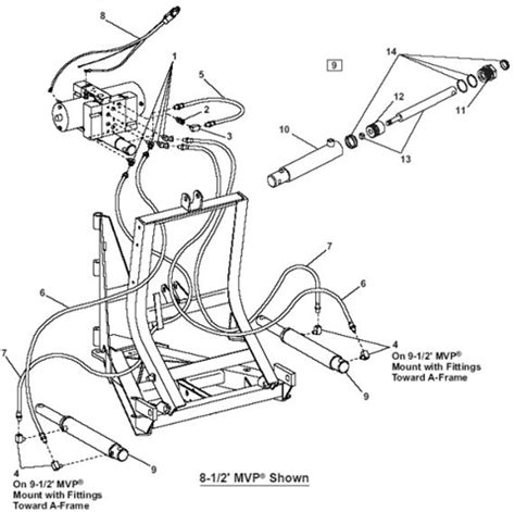 western snow plow parts diagram house wiring diagram snow plow parts