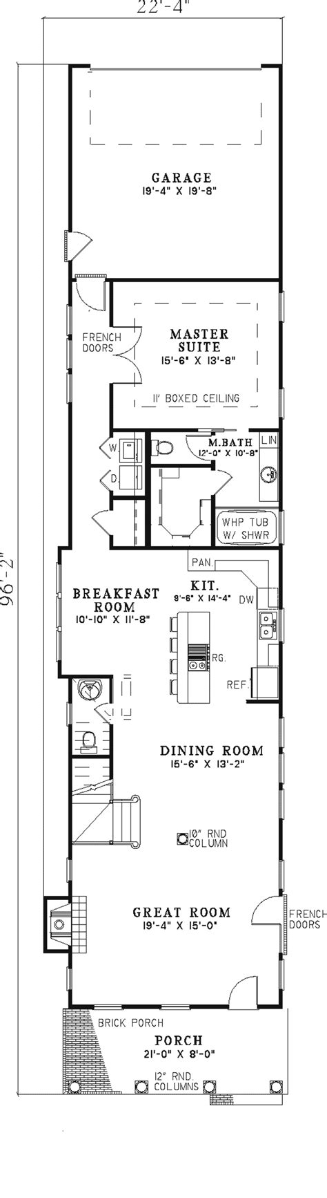 Rectangular House Plans by Modern Rectangular House Plans Homes Floor Plans