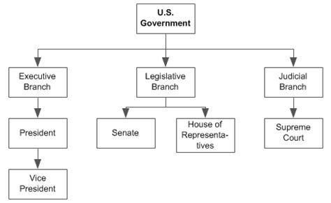 diagram of executive branch branching diagrams expertlearners