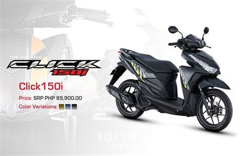Refreshed Honda Click 150i launched in the Philippines