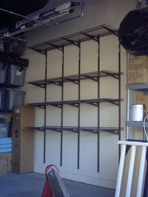 garage wall shelves ideas best garage shelving ideas