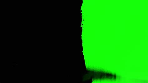 paint color for green screen green screen paint brush animation stock footage