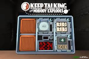 keep talking and nobody explodes инструкция