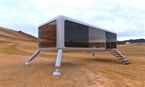 solar powered trailer home mobile homes eco chunk