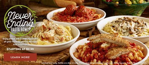 Olive Garden Brings Back Never Ending Pasta Bowl Offer Chew Boom - olive garden never ending pasta bowl 9 99