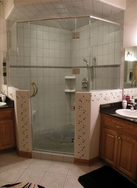 half wall frameless shower enclosure frameless glass shower all bgs glass prairie frameless shower doors are made with tempered glass meaning if the