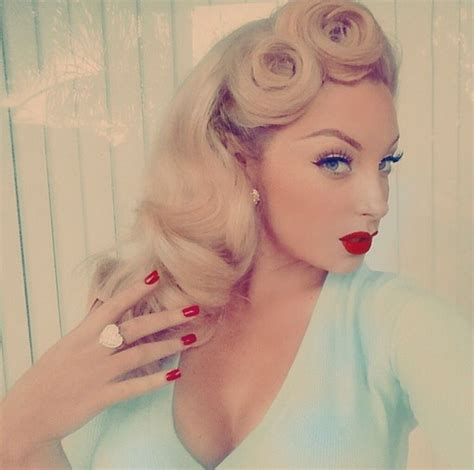 how stylist curled your hair in the 50s and 60s 799 best rockabilly pin up hair and makeup images on