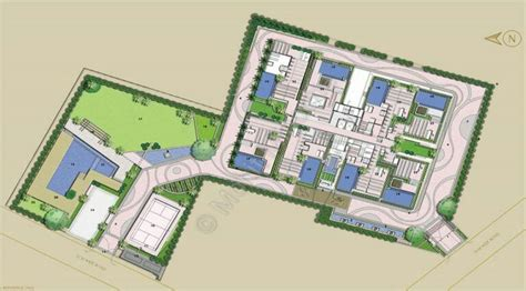 layout plan of karol bagh botanica neeti bagh new delhi luxury apartments