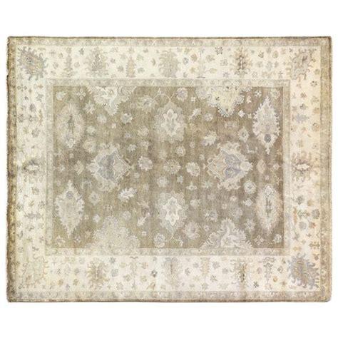 Rug Wool by Brown And Beige Antique Motif Rug
