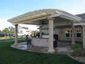 combination style solid and lattice patio covers sacramento patio covers