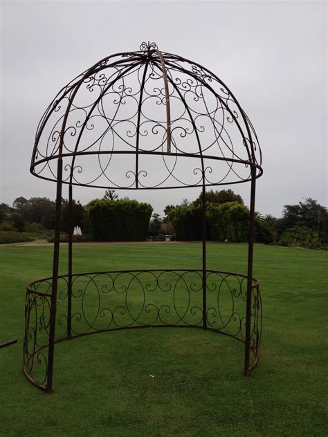 Iron Gazebo Wrought Iron Gazebo Vista Designs