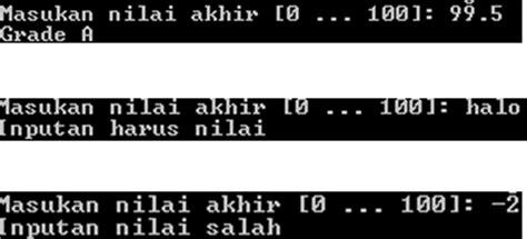 berbagi ilmu blogspotcom contoh flowchart if bersarang gamis murni
