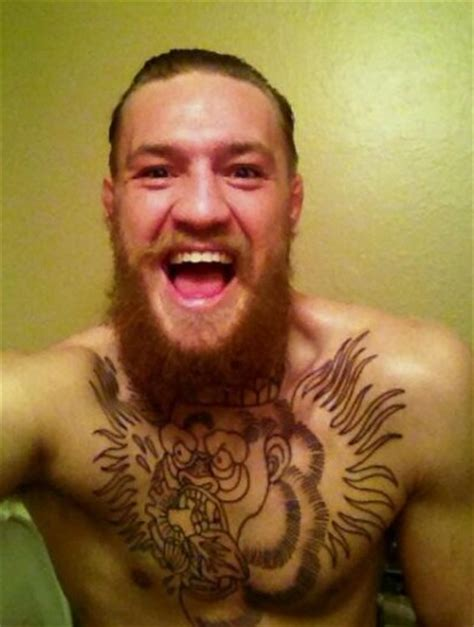 mcgregor tattoo on chest edgar friendly