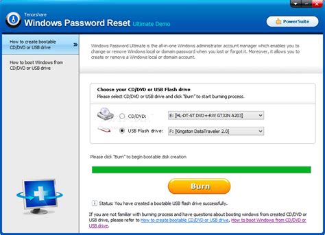 windows password reset kit 1 5 keygen download tenorshare windows password reset ultimate 1 0
