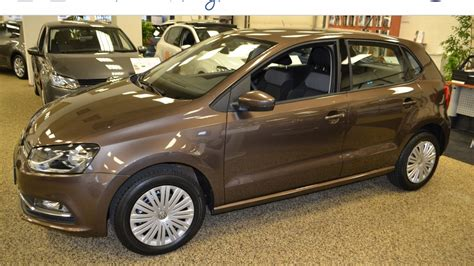 volkswagen brown volkswagen polo 1 2 90 pk tsi comfortline in toffee