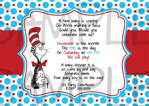 Dr Seuss Baby Shower Invitation Wording by Unavailable Listing On Etsy