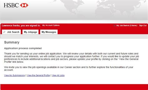 how to apply for hsbc at hsbc careers