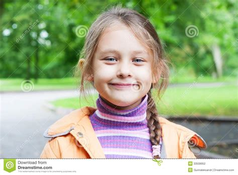 little girls little girl smiling stock photography image 33508952