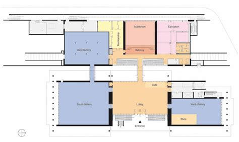 Kimbell Art Museum Floor Plan | renzo piano completes extension to louis kahn s kimbell