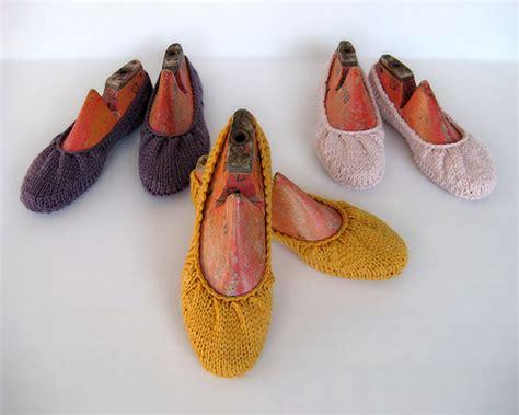 knitted ballerina slippers knitted ballet slipper pattern make