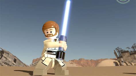 Lego Obi Wan Kenobi Starwars lego wars the awakens obi wan kenobi free roam gameplay hd