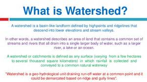 introduction to watershed management