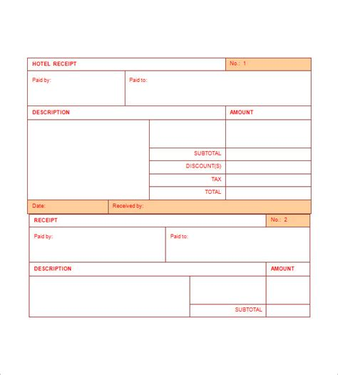 accommodation invoice template hotel invoice templates 15 free word excel pdf format