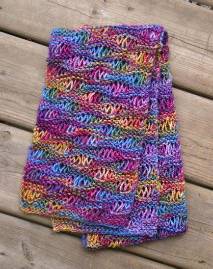 drop stitch knitting drop stitch scarf pattern a knitting