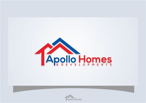 house logo designs modern bold logo design for apollo homes and developments