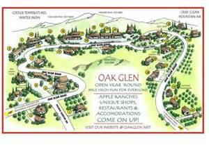 map of oak glen fall